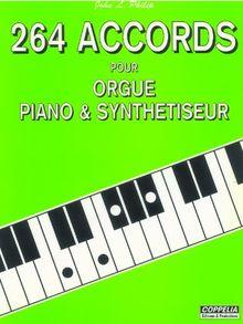 264 accords pour orgue, piano et synthetiseur