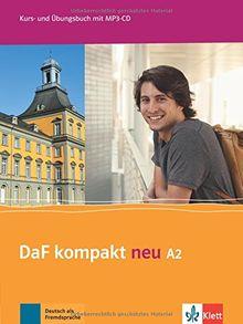 DaF kompakt neu A2: Kurs- und Übungsbuch + MP3-CD