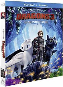 Dragons 3 : le monde caché [Blu-ray] [FR Import]