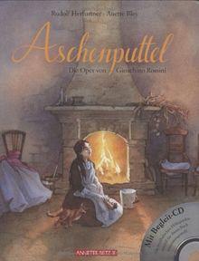 """Aschenputtel mit CD: Die Oper """"La Cenerentola"""" von Gioachino Rossini"""