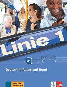 Linie 1 A1: Kurs- und Übungsbuch mit Video und Audio auf DVD-ROM