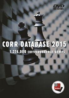 CHESSBASE CORR DATABASE 2015: Datenbank mit 1.274.000 Fernschachpartien