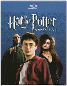 Coffret harry potter : vol. 4 à 6 [Blu-ray]