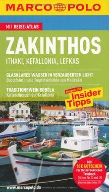 MARCO POLO Reiseführer Zakinthos, Ithaki, Kefallonia, Lefkas: Itháki - Kefalloniá - Léfkas. Reisen mit Insider-Tipps