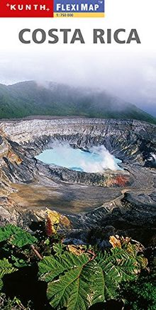 KUNTH FlexiMap Magnum Costa Rica 1:750000