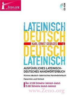 Zeno.org 009 Latein-Deutsch / Deutsch-Latein (PC+MAC)