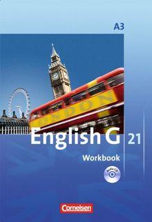 English G 21 - Ausgabe A: Band 3: 7. Schuljahr - Workbook mit CD