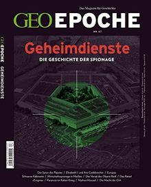 GEO Epoche (mit DVD) / GEO Epoche mit DVD 67/2014 - Geheimdienste: DVD: Töte zuerst! - Der israelische Geheimdienst Schin Bet.