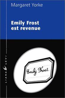 Emily Frost est revenue (POLICIERS)