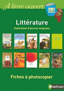 ALO-FICHES A PHOTOCOPIER CM2 (A livre ouvert)