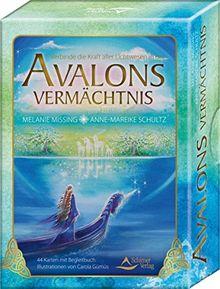 Avalons Vermächtnis: Verbinde die Kraft aller Lichtwesen in dir - 44 Karten mit Begleitbuch