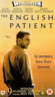 The English Patient [VHS] [UK Import]