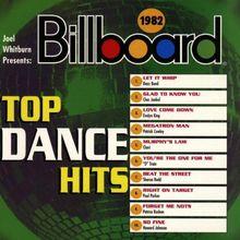 Billboard Top Dance Hits 1982
