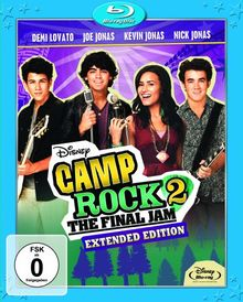 Camp Rock 2 - The Final Jam - Extended Edition [Blu-ray]