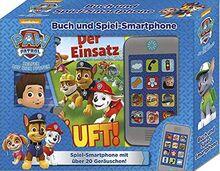 PAW Patrol - Der Einsatz läuft! - Buch und Spiel-Smartphone - 18 Seiten Bilderbuch - Mehr als 20 Geräusche und Musik