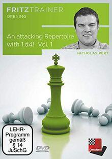 Nicholas Pert: An attacking Repertoire with 1.d4 – Part 1 (1.d4 d5 2.c4)! - Vol.1