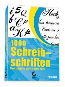1000 Schreibschriften