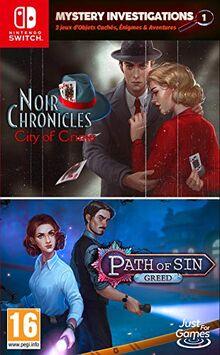 Mystery Investigations 1 - Pfad der S�nde: Gier + Noir Chroniken: Stadt des Verbrechens Nintendo Switch Game