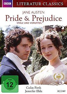 Pride & Prejudice - Jane Austen - Literatur Classics [2 DVDs]