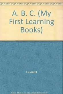 My First Learning Book:ABC (My First Learning Books)