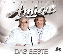 Das Beste - Platin-Edition (2 CDs mit großen Erfolgen der Amigos) inkl. den Hits: Ich geh für dich durchs Feuer, Dann kam ein Engel, Das weiße Schiff verlässt den Hafen