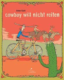 Cowboy will Stute von hinten reiten