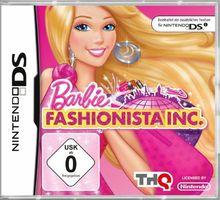 Barbie - Fashionista Inc. [Software Pyramide] - [Nintendo DS]