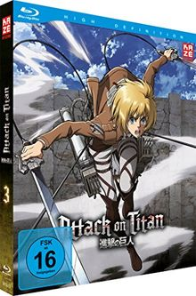 Attack on Titan - Vol.3 [Limited Edition] (inklusive Aufnäher) [Blu-ray]