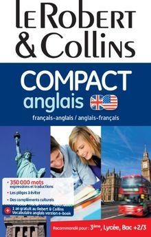 Dictionnaire le Robert & Collins Compact Anglais