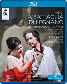 Tutto Verdi: La Battaglia di Legnano [Blu-ray]