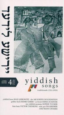 Yiddische Lieder-Buchformat