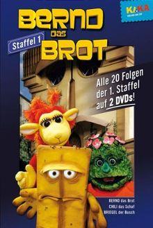 Bernd das Brot - Staffel 1 (Folgen 01-20) (2 DVDs)