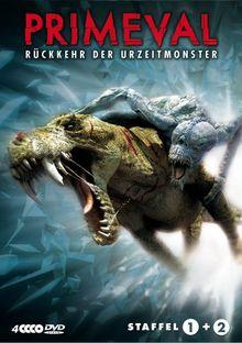 Primeval - Rückkehr der Urzeitmonster - Boxset Staffel 1+2 (4 DVDs)