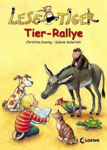 Lesetiger Tier-Rallye