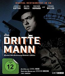 dritte Mann, Der / Limited 70th Anniversary Collector's Edition [Blu-ray]