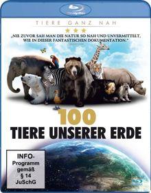 100 Tiere unserer Erde [Blu-ray]