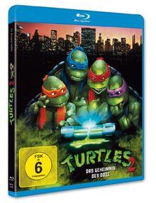 Turtles 2 - Das Geheimnis der Ooze [Blu-ray]