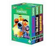 Sesamstraße: 3er Box (3-5 Jahre) Spielerisch lernen
