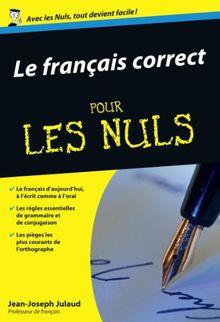 Le français correct (Poche pour les Nuls)