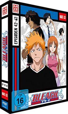 Bleach TV-Serie - Box 3 (Episoden 42-63) [4 DVDs]