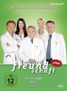 In aller Freundschaft - Die 13. Staffel, Teil 2, 18 Folgen [5 DVDs]
