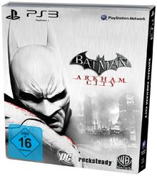 Batman: Arkham City - Steelbook Edition (exklusiv bei Amazon.de)