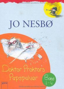 Doktor Proktor: Schuberausgabe, 4 Bände