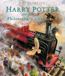 Harry Potter and the Philosopher's Stone. Illustrated Edition (Harry Potter Illustrated Editi)