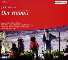 Der Hobbit. Audiobook. 4 CDs.