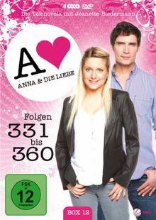 Anna und die Liebe - Box 12, Folgen 331-360 [4 DVDs]