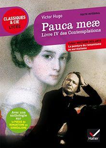 Pauca meae, Livre IV des Contemplations (1856) : Suivi d'une anthologie sur la poésie du romantisme au surréalisme