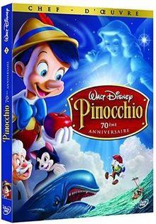 Pinocchio - Edition 70ème anniversaire - 2 DVD