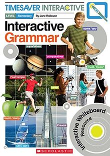 Timesaver Interactive 'Interactive Grammar', mit Interactive Whiteboard CD-Rom: Photocopiable, CEFR: A1 (Helbling Languages / Scholastic)