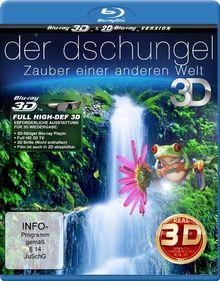 Der Dschungel 3D - Zauber einer anderen Welt (inkl. 2D Version) [3D Blu-ray]